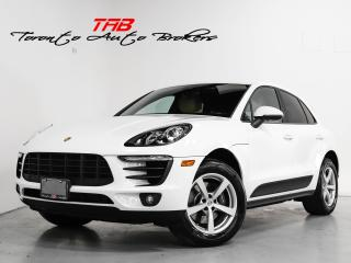 Used 2017 Porsche Macan I APPLE CARPLAY I LANE ASSIST I LOCAL VEHICLE for sale in Vaughan, ON