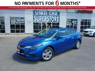 Used 2017 Chevrolet Cruze LT Turbo, Sunroof, Heated Seats, Reverse Camera. for sale in Niagara Falls, ON