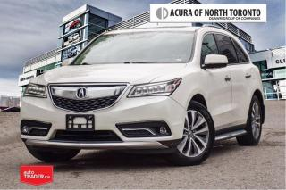 Used 2016 Acura MDX Tech No Accident| DVD|Remote Start for sale in Thornhill, ON