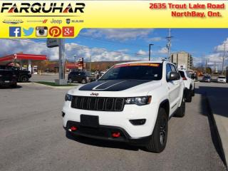 Used 2020 Jeep Grand Cherokee Trailhawk - Leather Seats for sale in North Bay, ON