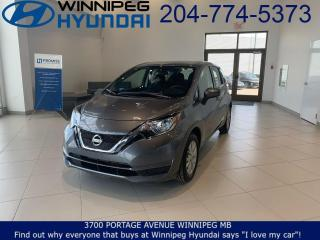 Used 2019 Nissan Versa Note SV for sale in Winnipeg, MB