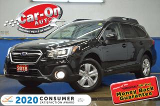Used 2018 Subaru Outback 2.5i AWD REAR CAM HTD SEATS NAV READY LOADED for sale in Ottawa, ON
