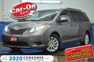 Used 2016 Toyota Sienna LE AWD 7 Passenger REAR CAM HTD SEATS FULL PWR GRP for sale in Ottawa, ON