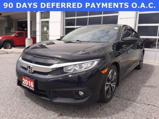 Used 2016 Honda Civic Sedan 4dr CVT EX-T for sale in North Bay, ON