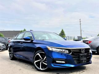 Used 2019 Honda Accord Sedan SPORT SUNROOF HEATED SEATS LANE WATCH ADAPTIVE CRUISE! for sale in Brampton, ON