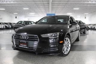 Used 2017 Audi A4 PROGRESSIV NO ACCIDENTS I NAVIGATION I SUNROOF I REAR CAM for sale in Mississauga, ON
