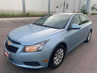 Used 2011 Chevrolet Cruze 4dr Sdn LT Turbo w/1SA for sale in Mississauga, ON