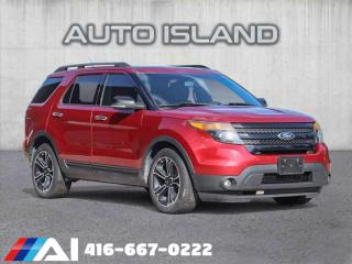 Used 2013 Ford Explorer 4WD*SPORT*PANORAMIC SUNROOF**LEATHER*DUAL DVD**NAVIGATION for sale in North York, ON