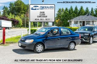 Used 2002 Toyota Echo Sedan, Fuel Efficient, Auto, Air Conditioning, Certified! for sale in Surrey, BC