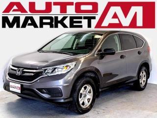 Used 2016 Honda CR-V LX Certified! Bluetooth! We Approve All Credit! for sale in Guelph, ON
