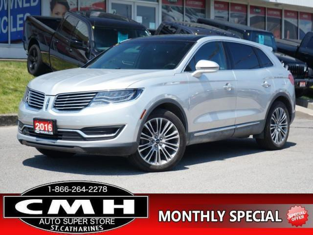 2016 Lincoln MKX Reserve  NAV CAM ROOF LEATH P/GATE 19-AL
