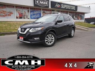 Used 2018 Nissan Rogue AWD SV  AWD ROOF PWR-SEAT CAM HS BT ALLOYS for sale in St. Catharines, ON
