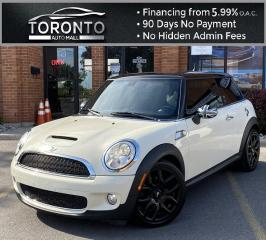 Used 2010 MINI Cooper S Panoramic Sunroof 6 Speed Heated Seats Sport Mode for sale in North York, ON