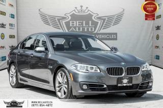 Used 2016 BMW 5 Series 535d xDrive, DIESEL, AWD, NO ACCIDENT, NAVI, 360 CAM, HEADS-UP for sale in Toronto, ON