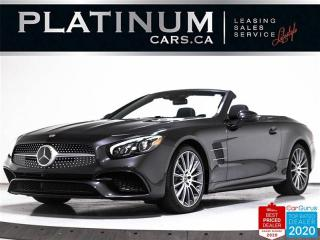 Used 2020 Mercedes-Benz SL-Class SL550, CONVERTIBLE, 4.7L V8, 449HP, NAV, NEW CAR for sale in Toronto, ON
