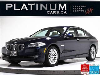 Used 2013 BMW 5 Series 535i xDrive, AWD, NAV, CAM, SUNROOF, LEATHER, BT for sale in Toronto, ON