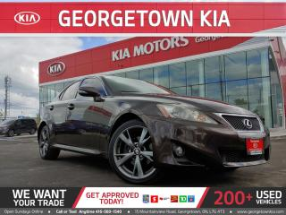 Used 2012 Lexus IS 250 AWD | ONLY 128K | NAVI | ROOF| B/U CAM | TINTS|B/T for sale in Georgetown, ON