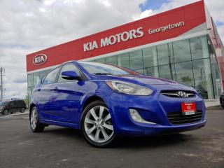 Used 2014 Hyundai Accent GLS | H/B | 1 OWNER | CLEAN CARFAX | ROOF for sale in Georgetown, ON