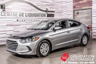 Used 2017 Hyundai Elantra LE+GR ELECTRIQUE+BLUETHOOT+A/C+BANCS CHAUFFANTS for sale in Laval, QC