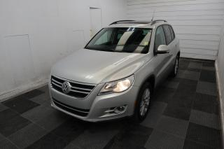 Used 2010 Volkswagen Tiguan COMFORTLINE for sale in Winnipeg, MB