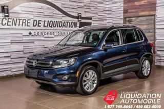 Used 2014 Volkswagen Tiguan HIGHLINE+AWD+CUIR+GPS+TOIT+MAGS for sale in Laval, QC