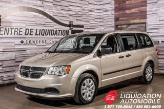 Used 2015 Dodge Grand Caravan CVP+UCONNECT+AIR CLIM. for sale in Laval, QC