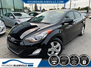 Used 2012 Hyundai Elantra GLS, TOIT, MAGS, BLUETOOTH, BANCS CHAUFF for sale in Blainville, QC