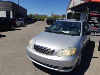 Used 2007 Toyota Corolla 4dr Sdn Auto CE, TOIT OUVRANT for sale in Beauport, QC