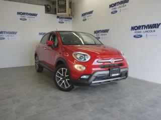 Used 2016 Fiat 500 X TREKKING PLUS | AWD | LEATHER | SUNROOF | NAV for sale in Brantford, ON