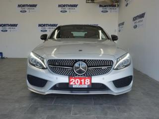 Used 2018 Mercedes-Benz C-Class AMG C43 | 4MATIC | COUPE | NAV | ROOF |LEATHER|17K for sale in Brantford, ON