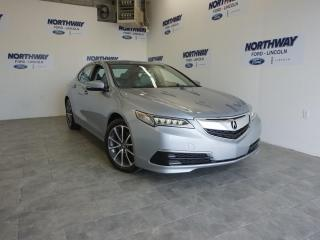 Used 2016 Acura TLX SH-AWD TECH | LEATHER | SUNROOF | NAV for sale in Brantford, ON