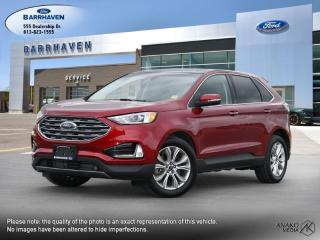 Used 2019 Ford Edge Titanium for sale in Ottawa, ON
