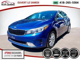 Used 2017 Kia Forte EX* BIZONE* SIEGES CHAUFFANTS* CARPLAY* for sale in Québec, QC