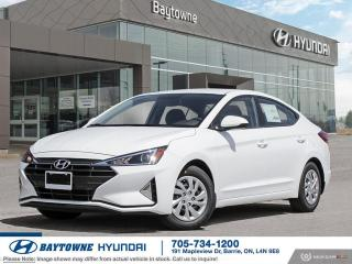 New 2020 Hyundai Elantra Essential IVT for sale in Barrie, ON