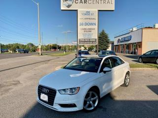 Used 2016 Audi A3 2.0 TFSI PREMIUM for sale in Barrie, ON