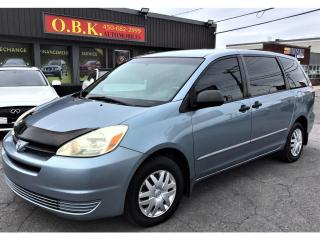 Used 2005 Toyota Sienna 7 Passenger-AIR CLIMATISE-GROUPE ELECTRIQUE for sale in Laval, QC