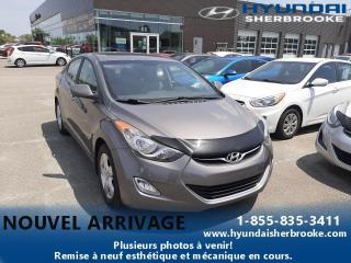 Used 2012 Hyundai Elantra GLS+TOIT+A/C+BANCS CHAUFF+BLUETOOTH for sale in Sherbrooke, QC