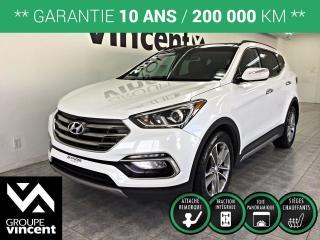 Used 2017 Hyundai Santa Fe SPORT LIMITED AWD  ** GARANTIE 10 ANS ** Le plaisir d'une familiale à l'allure sportive et bien équipée! for sale in Shawinigan, QC