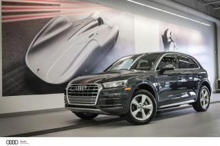 Used 2018 Audi Q5 PROGRESSIV - 2.0 TSFI - QUATTRO AWD for sale in Sherbrooke, QC