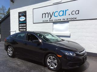 Used 2017 Honda Civic LX HEATED SEATS, BACKUP CAM, POWERGROUP!! for sale in Kingston, ON
