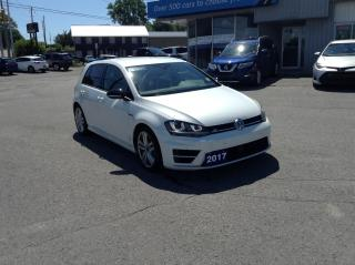 Used 2017 Volkswagen Golf R 2.0 TSI AMAZING RARE AWD ROCKET!! for sale in Kingston, ON
