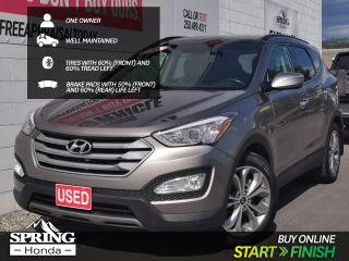 Used 2016 Hyundai Santa Fe Sport 2.0T Limited WELL MAINTAINED, ONE OWNER, for sale in Cranbrook, BC