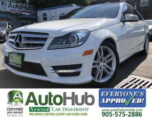 Used 2012 Mercedes-Benz C-Class C300-LEATHER-NAV-BACKUP CAMERA-PANORAMIC ROOF for sale in Hamilton, ON