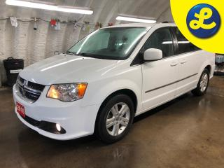 Used 2016 Dodge Grand Caravan Crew * Navigation * Stow N Go seating * Tri zone climate control with rear vents * Heated front seats * Heated mirrors * Heated steering wheel * Phone for sale in Cambridge, ON