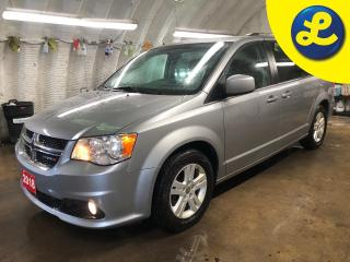 Used 2018 Dodge Grand Caravan Crew Plus * Garmin navigation system * Leather interior * Left power sliding door Power liftgate Right power sliding door * UCONNECT touch screen * for sale in Cambridge, ON