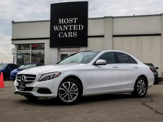 Used 2018 Mercedes-Benz C 300 4MATIC|NAV|BLIND|DUAL SUNROOF|PADDLE|ALLOYS|XENON for sale in Kitchener, ON