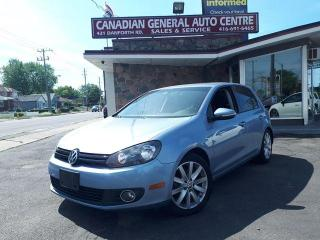 Used 2011 Volkswagen Golf COMFORTLINE for sale in Scarborough, ON