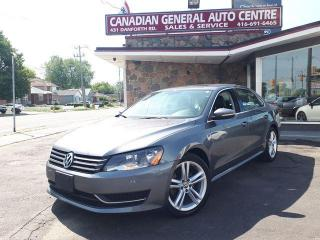 Used 2012 Volkswagen Passat 2.5L Auto Comfortline for sale in Scarborough, ON