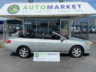 Used 2003 Toyota Solara SLE CONVERTIBLE! IN-HOUSE FINANCE IT! NO CREDIT REQ! FREE BCAA & WRNTY! for sale in Langley, BC