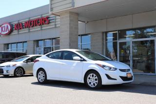 Used 2015 Hyundai Elantra GLS HEATED SEATS | MANUAL | BLUETOOTH for sale in Cobourg, ON